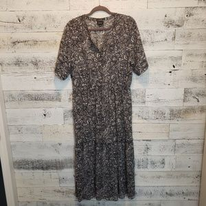 XL Sheet WhoWhatWear Maxi dress